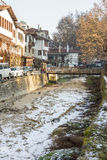Snowy January Melnik, Bulgaria Royalty Free Stock Image