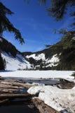 Snowy Lake Talapus, WA. Snowy Lake Talapus in Washington State Stock Photo