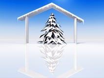 Snowy landscape Stock Image