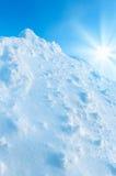 Snowy Landscape Stock Photography