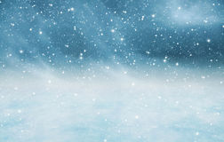 Snowy landscape texture Royalty Free Stock Photos