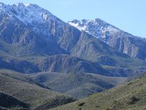 Snowy Langeberg Royalty Free Stock Photo