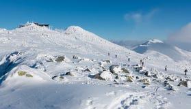 Snowy Low Tatras, Slovakia Royalty Free Stock Photos