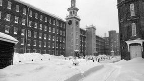 Snowy Lowell Immagini Stock