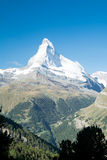 Snowy Matterhorn Royalty Free Stock Photography