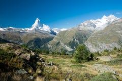 Snowy Matterhorn Royalty Free Stock Image