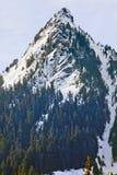Snowy McClellan Butte Snoqualme Pass Washingto Stock Photos