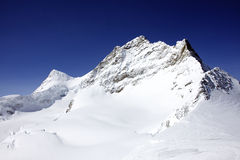 Snowy mountain Royalty Free Stock Photo