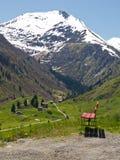 Snowy mountain Royalty Free Stock Image