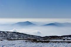 Snowy mountain Stock Image