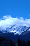 Snowy Mountain 5. Cold snowy mountain on Colorado's Front Range Royalty Free Stock Image