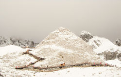 Snowy Mountain Stock Images