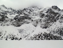 Snowy mountain Royalty Free Stock Photos