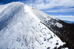 Snowy Mountain Peak Stock Photography