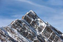 Snowy mountain peak Royalty Free Stock Image