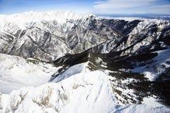 Snowy Mountain Range Royalty Free Stock Image