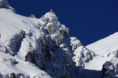 Snowy Mountain Stock Photography