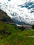 Snowy mountain Stock Photography