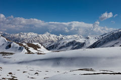 Snowy mountains Royalty Free Stock Images