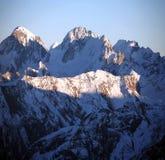 Snowy mountains, Elbrus area Stock Image