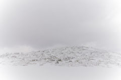 Snowy Mountains landscape ,Japan Royalty Free Stock Photos