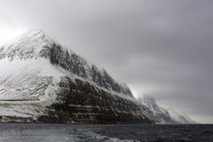 Mountains outside Longyearbyen Royalty Free Stock Image