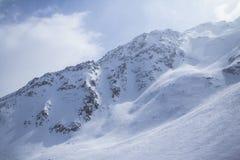 Snowy Mountains in Zermatt Stock Photos