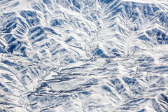 Snowy mountains, Turkey Royalty Free Stock Photography
