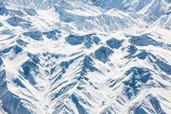 Snowy mountains, Turkey Stock Photo