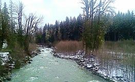 Snowy-Nebenfluss Lizenzfreies Stockbild