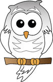 Snowy Owl illustration Royalty Free Stock Photo