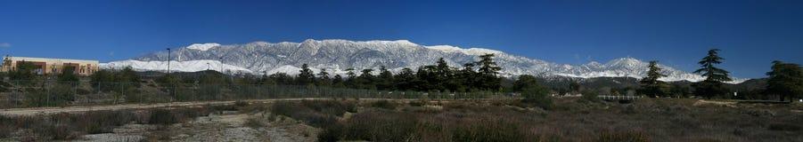 Snowy Panorama Stock Image