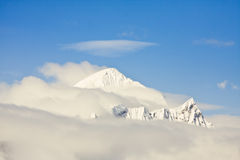 Snowy peaks Royalty Free Stock Photography