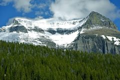 Snowy Peaks Stock Photography