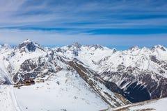 Snowy peaks Stock Photos