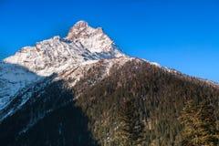 Snowy peaks Royalty Free Stock Images
