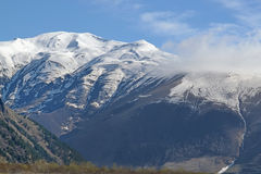 The snowy peaks of the Caucasus Royalty Free Stock Photos
