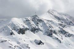 Snowy peaks. Stock Image