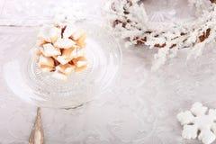 Snowy Pinecones Royalty Free Stock Photo