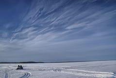 Snowy plain Royalty Free Stock Photography