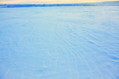 Snowy plains Royalty Free Stock Photography