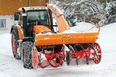Snowy-Räume Lizenzfreies Stockbild