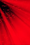 Snowy red background stock illustration