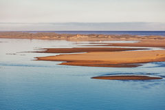 Snowy River mouth, Marlo, Victoria, Australia Royalty Free Stock Images