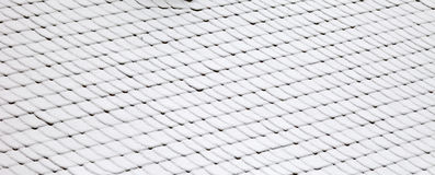 Snowy roof Stock Image