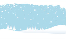 Snowy scene Royalty Free Stock Image