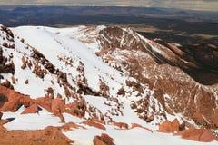 Snowy slopes Stock Photo