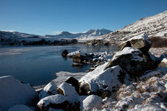 Snowy Snowdonia Royalty Free Stock Image
