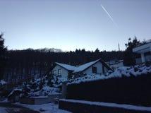 Snowy städtisch Stockfotos