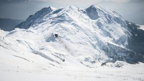 Snowy summit Royalty Free Stock Image